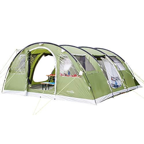 Qisan Camping autom/ático al Aire Libre Tienda emergente para Tiendas Impermeables de Apertura r/ápida Pabell/ón para 4 Personas con Bolsa de Transporte F/ácil de configurar